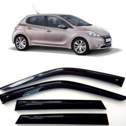 Дефлекторы боковых Окон на Пежо Хэтчбек - Peugeot 208 Hb 5d 2012-2015