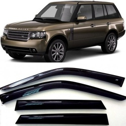 Дефлекторы боковых Окон на Ленд Ровер Рендж Ровер 3 - Land Rover Range Rover 3 2002-2012