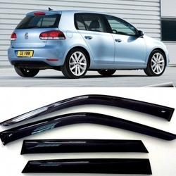 Дефлекторы боковых Окон на Фольксваген Гольф 6 - Volkswagen Golf 6 5d 2008-2012