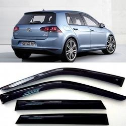 Дефлекторы боковых Окон на Фольксваген Гольф 7 - Volkswagen Golf 7 5d 2012-2017