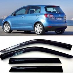Дефлекторы боковых Окон на Фольксваген Гольф Плюс 1 - Volkswagen Golf Plus 1 5d 2004-2009