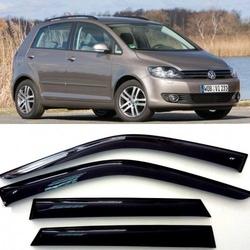 Дефлекторы боковых Окон на Фольксваген Гольф Плюс 2 - Volkswagen Golf Plus 2 5d 2009-2014