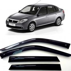 Дефлекторы боковых Окон на Рено Симбол - Renault Symbol 2008-2012