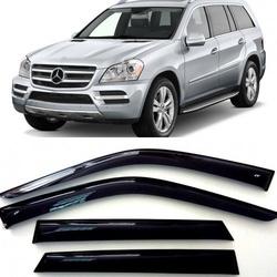 Дефлекторы боковых Окон на Мерседес Бенц GL-класс - Mercedes Benz GL-klasse
