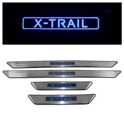 Накладки на пороги с Подсветкой Нисан NISSAN X-TRAIL