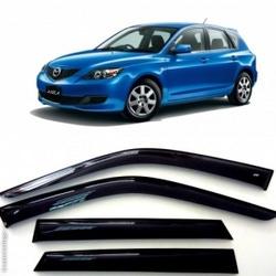 Дефлекторы боковых Окон на Мазда 3 Хэтчбек - Mazda 3 Hb 2003-2008