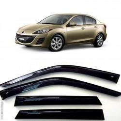 Дефлекторы боковых Окон на Мазда 3 Седан - Mazda 3 Sd 2009-2013