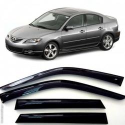 Дефлекторы боковых Окон на Мазда 3 Седан - Mazda 3 Sd 2003-2008