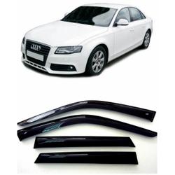 Дефлекторы боковых Окон на Ауди А4 Седан - Audi A4 Sd (B8/8K) 2007-2012