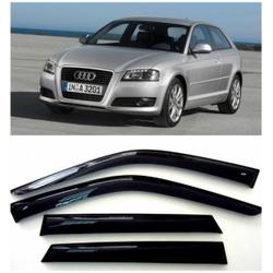 Дефлекторы боковых Окон на Ауди А3 Хэчбек 5д - Audi A3 Hb 5d (8P) 2004-2012