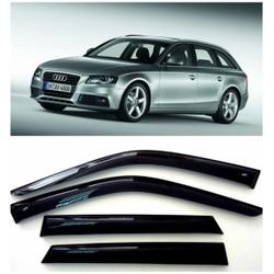 Дефлекторы боковых стекол на Ауди А4 Авант - Audi A4 Avant (B8/8K) 2007-2011