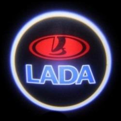 Подсветка для дверей с Логотипом Лада