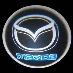 Подсветка для дверей с Логотипом Мазда.