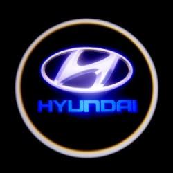 Подсветка для дверей с Логотипом Хендай