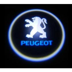 Подсветка для дверей с Логотипом Пежо