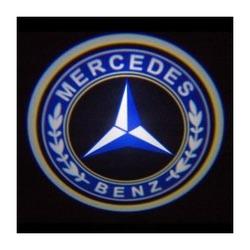 Подсветка для дверей с Логотипом Мерседес