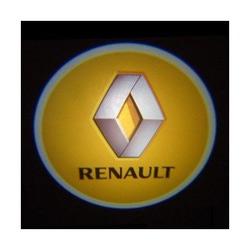 Подсветка для дверей с Логотипом Рено (RENAULT)