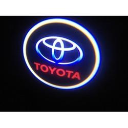Подсветка для дверей с Логотипом Тойота.