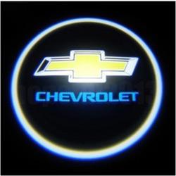 Подсветка для дверей с Логотипом Шевроле