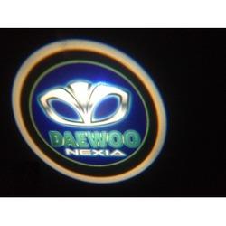 Подсветка для дверей с Логотипом Дэу НЕКСИЯ