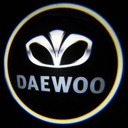 Подсветка для дверей с Логотипом Дэу