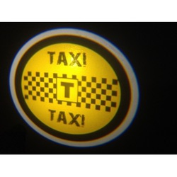 Подсветка для дверей Такси