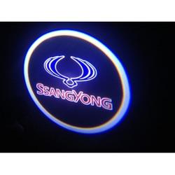 Подсветка для дверей с Логотипом Сань Енг (Ssang Yong)