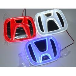 Светящаяся 4D Авто Эмблема Хонда