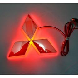Светящаяся 4D Авто Эмблема Митсубиси