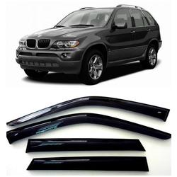 Дефлекторы боковых Окон на БМВ Х5 - BMW X5 (E53) 2000-2006