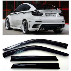 Дефлекторы боковых Окон на БМВ Х6 - BMW X6 (E71/E72) 2008-2014