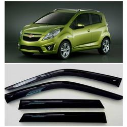 Дефлекторы боковых Окон на Шевроле Спарк 3 - Chevrolet Spark 3 2009-2015
