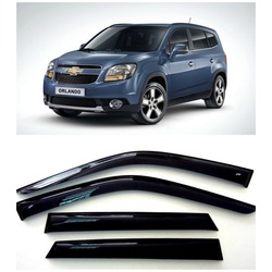 Дефлекторы боковых Окон на Шевроле Орландо - Chevrolet Orlando 2010-2015
