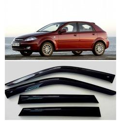 Дефлекторы боковых стекол на Шевроле Лачетти Хэтчбек - Chevrolet Lacetti Hatchback 2003-2013