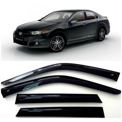 Дефлекторы боковых Окон на Хонда Аккорд 8 Седан - Honda Accord VIII Sd 2008-2013