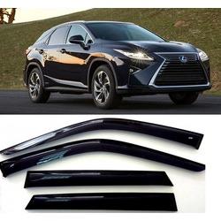 Дефлекторы боковых Окон на Лексус RX - Lexus RX 2010-2016