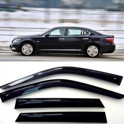 Дефлекторы боковых Окон на Лексус ЛС - Lexus LS