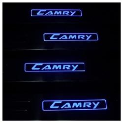 Накладка на пороги Тойота Камри - Toyota Camry