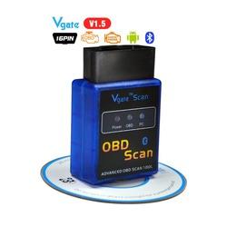 Диагностический Адаптер (Автосканер)- Универсальный- Vgate scan obd scan v 1.5 Рекомендован для СТО и Авто-Сервисов