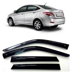 Дефлекторы боковых Окон на Хендай Солярис Седан - Hyundai Solaris Sd 2010-2015