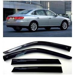 Дефлекторы боковых Окон на Хендай Грандер 4 Седан - Hyundai Grandeur 4 Sd 2005-2011