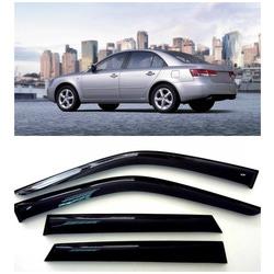 Дефлекторы боковых Окон на Хендай Соната НФ Седан - Hyundai Sonata NF Sd 2004-2010