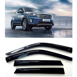 Дефлекторы боковых стекол на Хендай Крета - Hyundai CRETA