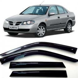 Дефлекторы боковых Окон на Ниссан Альмера 2 (N16) Седан - Nissan Almera 2 (N16) Sd 2000-2006