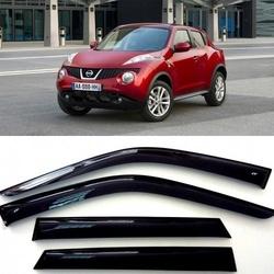 Дефлекторы боковых Окон на Ниссан Жук (YF15) - Nissan Juke (YF15) 2010-2015