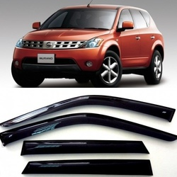 Дефлекторы боковых Окон на Ниссан Мурано 1 - Nissan Murano 1 (Z50) 2002-2008