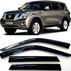 Дефлекторы боковых Окон на Ниссан Патрол (Y62) - Nissan Patrol (Y62) 2010-2015