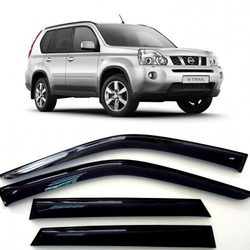 Дефлекторы боковых Окон на Ниссан Х-Трейл 2 (T31) - Nissan X-Trail 2 (T31) 2007-2013