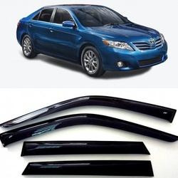 Дефлекторы боковых Окон на Тойота Камри (XV40) Седан - Toyota Camry (XV40) Sd 2006-2011